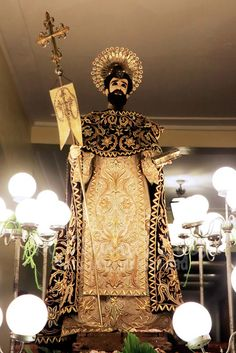 Dominic de Guzman Founder of the Order of Preachers (Dominicans) Feast of Our Lady of the Mos Holy Rosary - La Naval de Manila Sto. Holy Rosary, Our Lady, Manila, Holi, Saints, Eyes, Santo Domingo, Holi Celebration, Cat Eyes