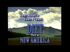 At 11 minutes this documentary shows Dr. Colin Campbell stating that a diet high in protein, such as American's eat, is directly related to cancer.. He's referring to the China Study that has become so famous in a book of the same name., The book, Diet For a New America was published in the 80's or late 70's.