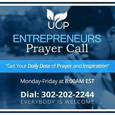 Entrepreneur call