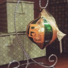 What's a #BaylorChristmas without a new ornament for the Christmas tree?