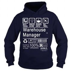 WAREHOUSE MANAGER - CERTIFIED JOB TITLE