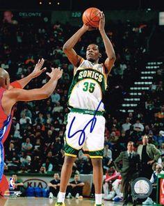 6e8e3ba85 Kevin Durant Autographed 8x10 Photo  SportsMemorabilia  SeattleSupersonics