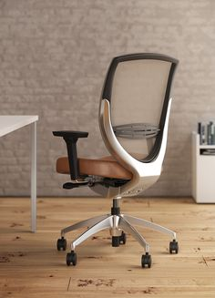 """In 2014 Kimball Office commissioned us with a visualization of the office swivel chair """"Wish""""."""