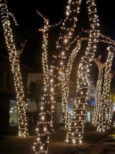 Il centro pieno di luci Milano Marittima Hotel Al Cacciatore di Sogni