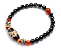 Fortune God Protection Dzi Eyes Bead Bracelet