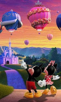 *m. Mickey and Minnie