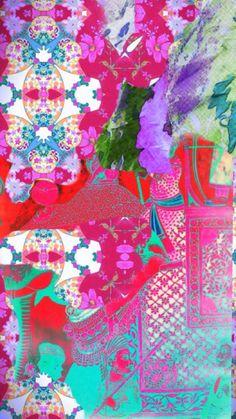 my office wall art~ designed by Tracy Porter Poetic . Surface Pattern Design, Pattern Art, Motif Baroque, Branding, Cactus Y Suculentas, Jolie Photo, Art Graphique, Wall Art Designs, Art Techniques