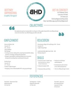 resume, simple and effective