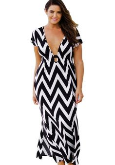 Plus size short sleeve summer dresses - http://fashion-plus-size-womens.info/summer-fashion/1894-plus-size-short-sleeve-summer-dresses.html #plus #size #plussize #trands2016 #fashion2016 #Look #trandy