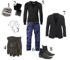Rocker Fashion For Men | Idée de look HOMMES : soyez Rock-Chic | L'Entre-Deux par Fashizblack ...