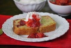 Blood Orange Olive Oil Cake via Blissful Blog's Blissful Eats