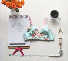 *** PLEASE NOTE! This listing is for a SEWING PATTERN, not actual lingerie. If you would like me to make you some lingerie, please visit my lingerie shop on Etsy! https://www.etsy.com/shop/ohhhlulu *** The Anna Cross Over Bra is one of my personal favourites. This bra is sewn in stretch knits,and you have the option of lining the cups for a little more support. This bra features princess seams for shaping, and a cross over front; a great little bralette that is pretty en...