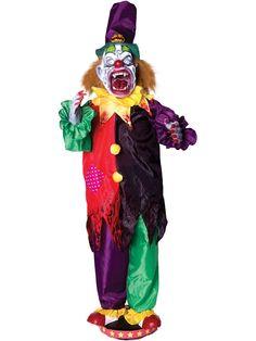 animated clown teeth prop halloween propspirit