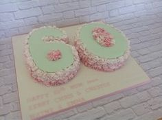 25 Inspiring Number 60 Cakes Images 18th Cake Number Cakes