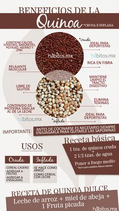 Beneficios de la #quinoa