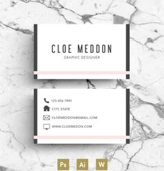 Buisness Card / Calling Card by Emily's ART Boutique on @creativemarket