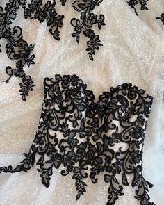 Find unique black lace wedding dresses #MaggieSottero #wedding #weddingdress #weddinginspo #weddinginspiration #uniqueweddingdress #blackweddingdress #coloredweddingdress #laceweddingdress #ballgownweddingdress #straplessweddingdress Gothic Chic, Maggie Sottero Wedding Dresses, Dress Stand, Colored Wedding Dresses, Designer Wedding Dresses, Bridal Gowns, Ball Gowns, Lace, Cerulean