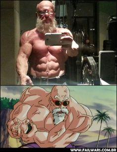 Santa mãe de Deus! Dragon Ball é real e o Mestre Kame existe mesmo!