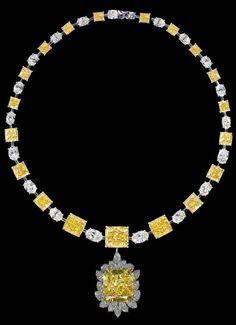 Diamond necklace by Elie Chatila
