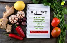 Now reduce your weight systematically with a customized diet plan. Book an appointment.