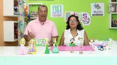 Programa Artes na TV 03/10/15 - T2/E23 - Ponteira para caneta em Biscuit