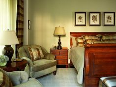 Traditional Bedrooms in  from HGTV