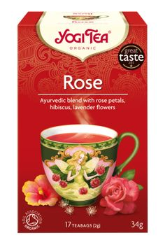 Shop Yogi Tea Organic Rose Tea at Holland & Barrett. Yogi Organic Rose Tea blends the essences of 8 blossoms and flowers into a light and delicate tea. Kombucha, Ayurveda, Rosen Tee, Chai Tee, Organic Roses, Tea Box, Tea Benefits, Best Tea, Elderflower