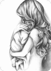 baby drawing Mother and Child Drawing Tattoo For Son, Tattoos For Kids, Tattoos For Daughters, Daughter Tattoos, Mother And Daughter Drawing, Mother Art, Mother Mother, Mama Tattoos, Body Art Tattoos