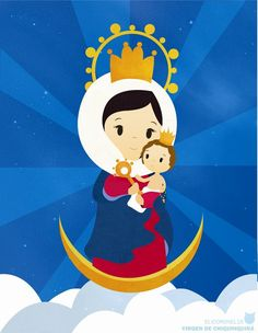 Virgen de Chiquinquira by elicoronel16
