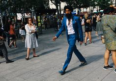 Paris is the next stop on the Spring 2017 men's show circuit. Photographer Phil Oh is there to capture all the street style action.