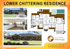 Home Builders Advantage- Perth's Biggest Building Broker- Single Storey Home Designs- Tradtional Style Farm House with Family Games Room & Raking Ceilings- www.homebuildersadvantage.com.au