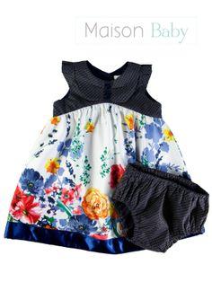 Beautiful outfit for baby girls. Lindo vestido de festa infantil #maisonbaby #babysoutift #babygirl #dress #toddlerdress #vestidoinfantil #vestidodefestainfantil