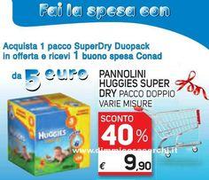 Buono spesa Conad in regalo con Huggies | Campioni omaggio gratuiti, Concorsi a premi, Buoni sconto - DimmiCosaCerchi.it