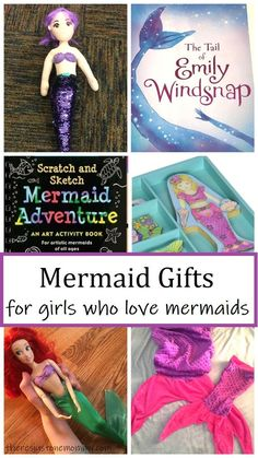 fun mermaid gift ideas for girls that love mermaids Kids Learning Activities, Fun Learning, Activities For Kids, Gifts For Girls, Kids Gifts, Mermaid Gifts, Inspirational Gifts, Diy Crafts For Kids, Homemade Gifts