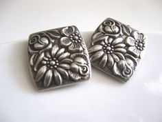 Vintage Towle Contessina Sterling Earrings by ErmaJewelsVintage, $45.00