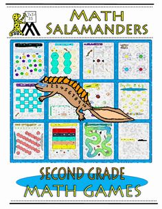 Take a look at our second grade math games ebook with 30 different fun math games to play!