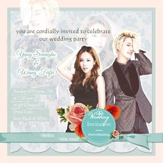 wedding invitation seungho-fei