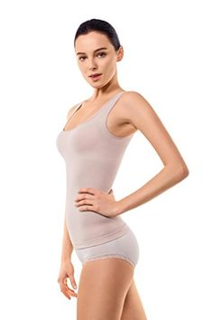 0de239c19 MD Shapewear Tank Top Camisole Body Shaper And Sports Cami For Tummy And  Waist Large Light Nude   Continue to the product at the image link.