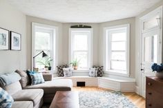 Before & After: A Living Room Gets an Elegant Update | Apartment Therapy