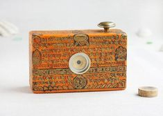 Image of Medium format pinhole camera, 120 film 120 Film, Pinhole Camera, Paper Ship, Cameras For Sale, Focal Length, Best Camera, Aperture, Flask, Coin Purse
