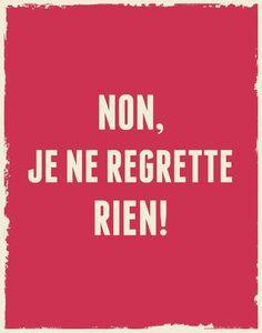 Rien !