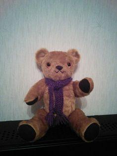 Teddy bear Homemade Crafts, Teddy Bear, Toys, Animals, Animales, Animaux, Gaming, Games, Animais