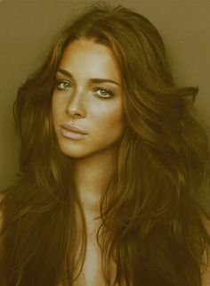 this is my dream hair. i wish that i could wake up and have it look like this.