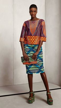 African Prints in Fashion: Think - The new Vlisco collection