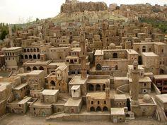 Casas de pedra, Turquia.