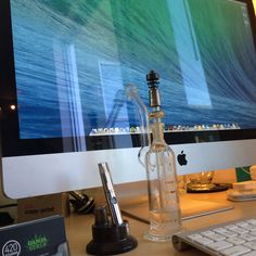 Time to make the donuts.  - #officesupplies @purrglass @Cloud Vaporizers