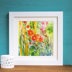 'Autumn Light' Watercolour Mounted And Signed Print - what's new