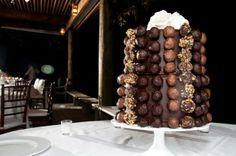 Torta nuziale natalizia con cioccolato