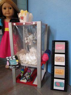 Doll popcorn stand