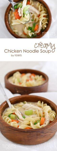 Creamy Chicken Noodl